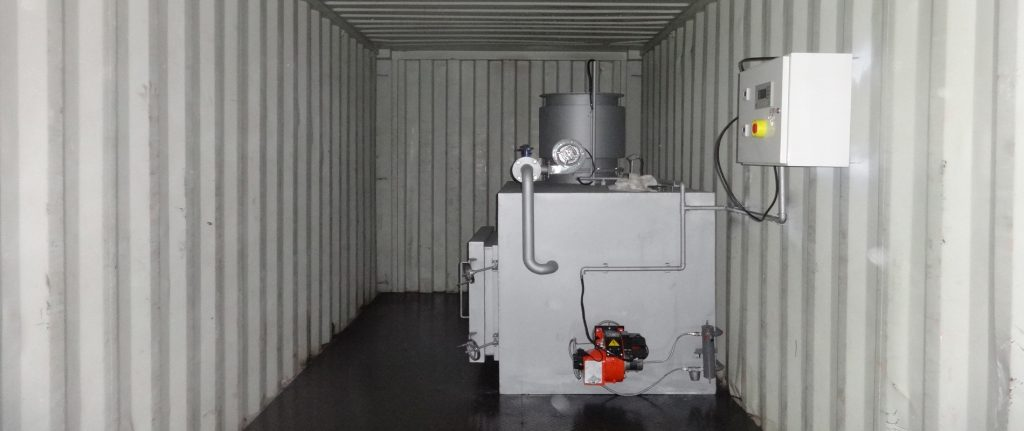 Mobile Incinerator Containerized Incinerators Units