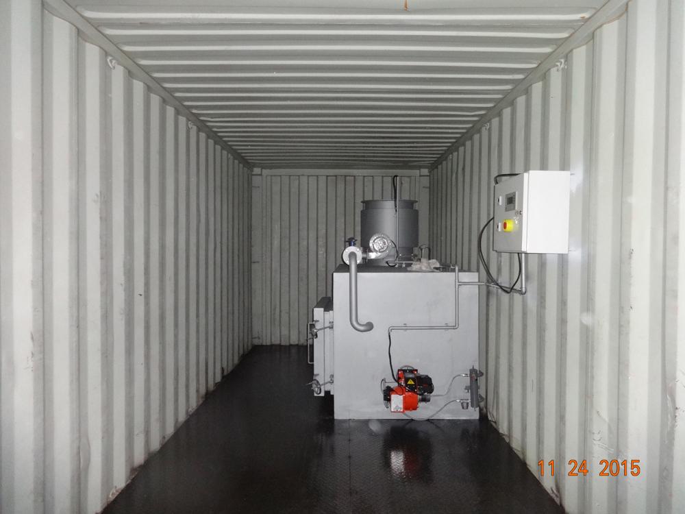 Containerized Mobile Incinerators