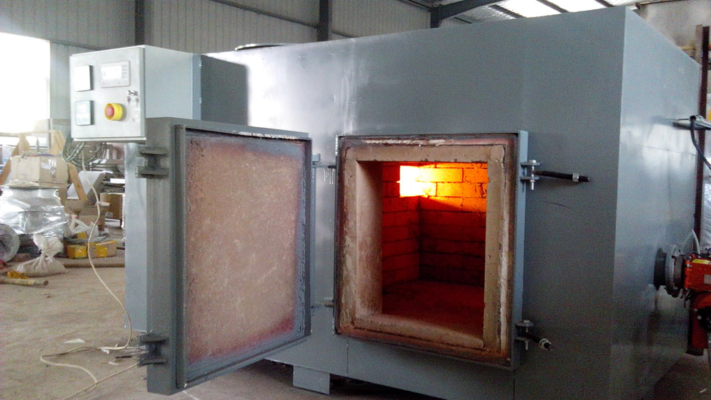 Specifications Double chamber incinerator
