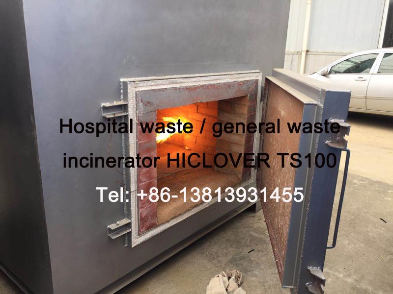 Hospital waste / general waste incinerator HICLOVER TS100